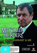 Midsomer Murders - D.C.I. Barnaby & Me : Collection 1 (DVD, 2009, 3-Disc Set)R4