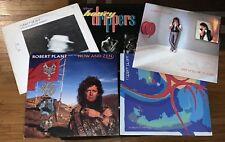 ROBERT PLANT 5-LP vinyl lot: HONEYDRIPPERS Now And Zen Shaken Principle Pictures
