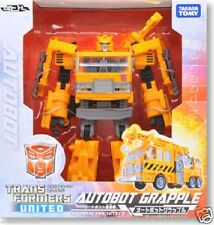 New Transformers UN11 TF United Auto Bot Grapple PAINTED