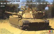 1/35 Rye Field M1A2 SEP Abrams TUSK I/TUSK II/M1A1 TUSK (3 in 1) #5004