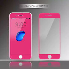 Pure Color 3D Soft Edge Tempered Glass Screen Protector for iPhone 8 7 Plus 6 6S