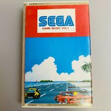 SEGA GAME MUSIC Retro Game and Outrun Space Harrier Other Soundtra Cassette Tape