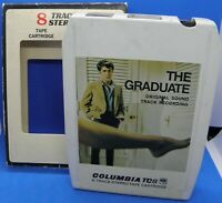 The Graduate Original Soundtrack on 8track Stereo Tape - Columbia Records