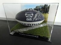 ✺Signed✺ PATRICK DANGERFIELD Geelong Cats Football PROOF COA 2020 Jumper AFL