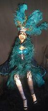 Katherine's Collection Wayne Kleski Retired Life Size Lulu Vegas Showgirl Doll