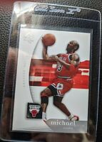 2005 06 UPPER DECK SP AUTHENTIC #12 MICHAEL JORDAN CHICAGO BULLS HOF MINT