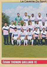 074 EQUIPE TEAM 1/2 FRANCE EVIAN THONON GAILLARD STICKER FOOTBALL 2015 PANINI ~