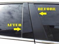 Fits Lincoln Aviator 2003-2005 Piano Glossy Black Pillar Posts Trim 6PCS
