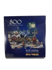 Night Arrival Train Sealed 800 Piece Jigsaw Puzzle Artwork Kirk Randle