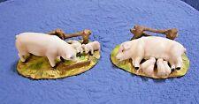 Enesco Mama Pig & Piglets Figurines