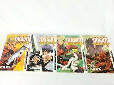 Trigun Maximum Manga Vol. 1-4 Anime Comic Books Japan Excellent Condition