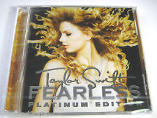 Taylor Swift - Fearless CD + DVD NEW & SEALED  Platinum Edition  dvd region 0