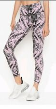 V.S.  Retired Large 7/8  Tie Dye NWT VICTORIA SPORT KNOCKOUT PANTS High rise L