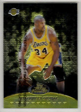 1999-00 SHAQUILLE O'NEAL - FINEST TEAM FINEST GOLD #TF14 - 025/250 - WITH PEEL
