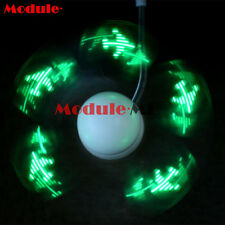Flexional Mini USB Programmable Flashing LED Light DIY Messages Cooling Fan