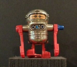 Mini Plastic Wind-up Toy Walking Long Armed Robot by TOMY 1979