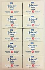 10 Bars Johnson's Baby Soap Enriched With Moisturizer. Free Shipping!