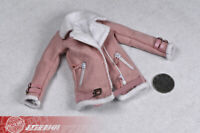 1/6 Lambskin jacket sherpa Coat Suit 12inches TBLeague Female Figure Accessory