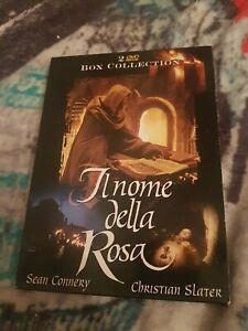 Il Nome della Rosa 2 Dvd Box Collection Fuori Catalogo Sean Connery