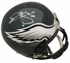 Eagles Donovan McNabb Authentic Signed Full Size Rep Helmet BAS Witnessed