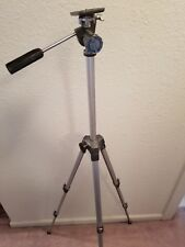 Vintage Camera Tripod Hollywood Aluminum - Expandable Legs Very Well Made Japan