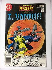I...Vampire! House of Mystery #318 F+ DC comic 1983