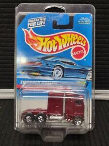 Vintage Hot Wheels Thunder Roller ~ Maroon, NIP ~ Always in Protector Pack