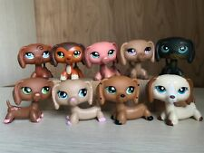 9pcs Littlest Pet Shop Dachshund Dog ##909 #518 #675 #932 #325 #2046 #1491 #556