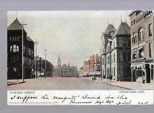 pk34843:Postcard-Ontario Street,Stratford,Ontario