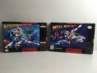 Mega Man X + X2 für Super Nintendo / SNES * US * in OVP
