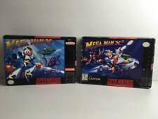 Mega Man X + x2 para Super Nintendo/SNES * us * en OVP