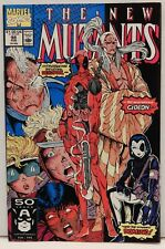 The New Mutants #98.First appearance of Deadpool. FIRST PRINT NO RESERVE!