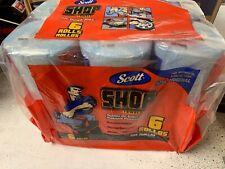 75180 Shop Towels, Blue, 6-Pk.  55 sheets per roll