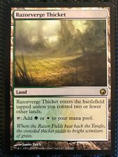 Razorverge Thicket, Scars of Mirrodin, MTG, Near Mint