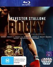 ROCKY - The UNDISPUTED COLLECTION 6 FILMS 7 DISCS BLU RAY BOXSET REG B New