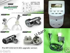 Pro DIY CO2 kit system magnetic solenoid valve, timer switch planted aquarium