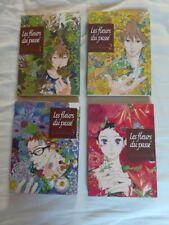 Manga Les fleurs du passé Série complète rare Haruka Kawachi. En français