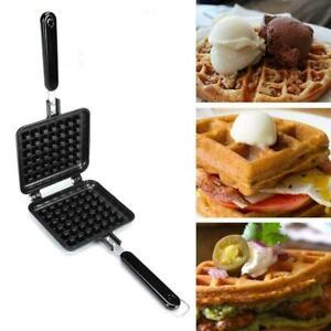 1pcs Non-Stick Waffles Muffin Maker Machine Kitchen Waffle Baking Pan W2H1