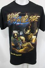 NWOT BIG BEAR LAKE CALIFORNIA Living On The Wild Side GILDAN T Shirt L