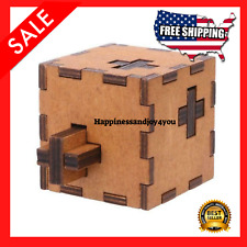 2021 NEW IQ Test Impossible Brain Teaser Puzzle Secret Box Toy For Kids & Adults