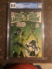 Green Lantern Green Arrow #76 CGC 8.0 1970 Neal Adams Bronze Age Key Classic!