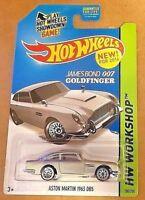 Hot Wheels HW Workshop ASTON MARTIN 1963 DB5 HW All Stars 2014 Mattel - New