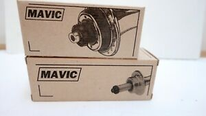 Mavic 501 32 Hole Hubs for Road Bikes - NOS, Boxed With Skewers