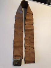 Diesel Gürtel Damengürtel 90cm Leder Braun