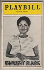 "Melba Moore   ""Inacent Black""   FLOP   Playbill   1981   BROADWAY"