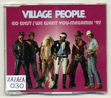 Village People Maxi CD Go West / We Want You - Megamix '97 - German 3-track