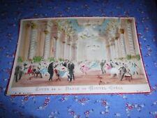 Cabinet Card  Foyer de la Danse du nouvel Opera  A. H. Editeur Paris