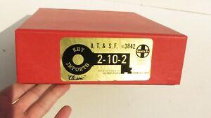 KEY IMPORTS SANTA FE BRASS A.T. & S.F. 2-10-2 #3829 CUSTOM SER #52