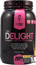 FITMISS DELIGHT 907G VANILLA WOMENS PROTEIN POWDER WHEY MUSCLEPHARM FIT MISS WPI
