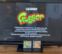 PlayStation PS1 Frogger and Ms. Pac-man Game Lot Of 2 Complete, Tested see pics!